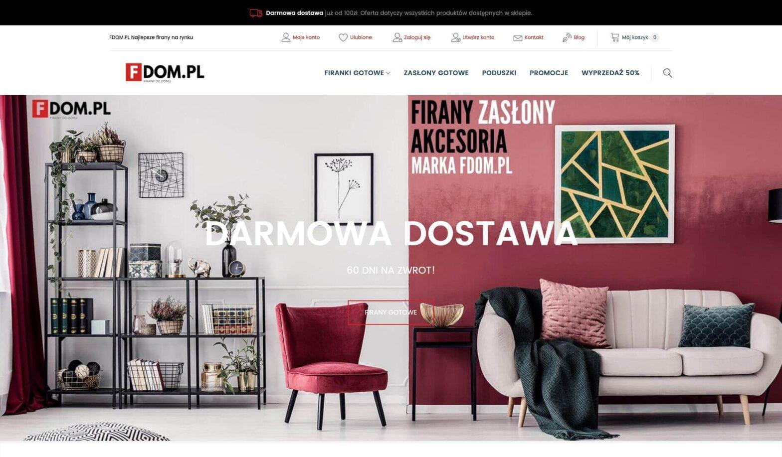 FDOM.PL Najlepsze firany na rynku