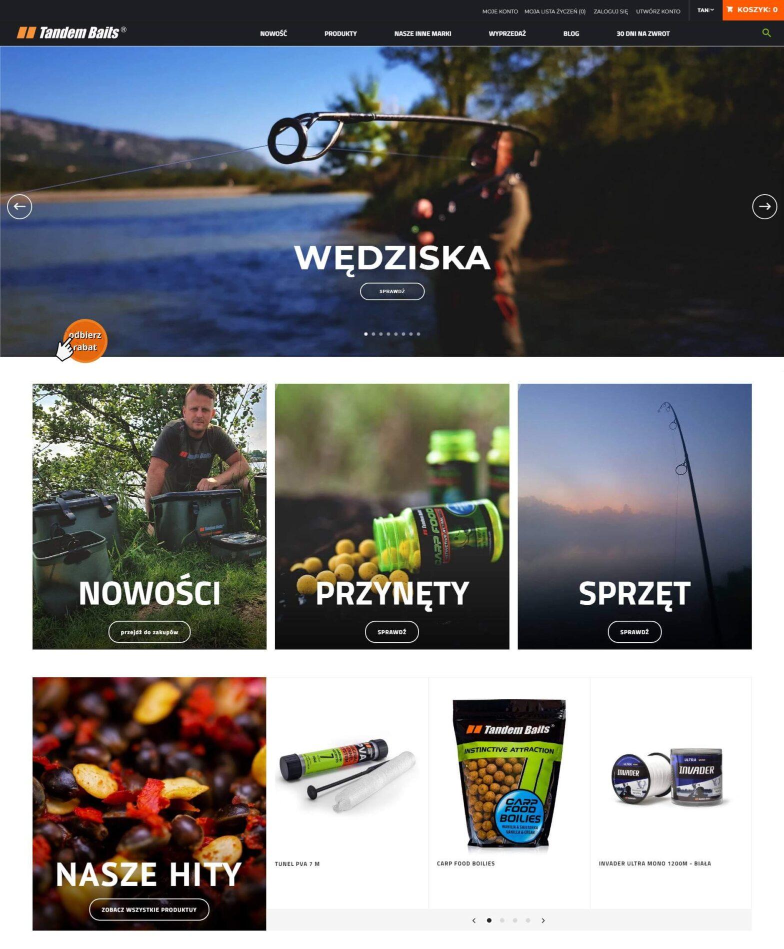 tandembaits.com- Wędkarski sklep internetowy