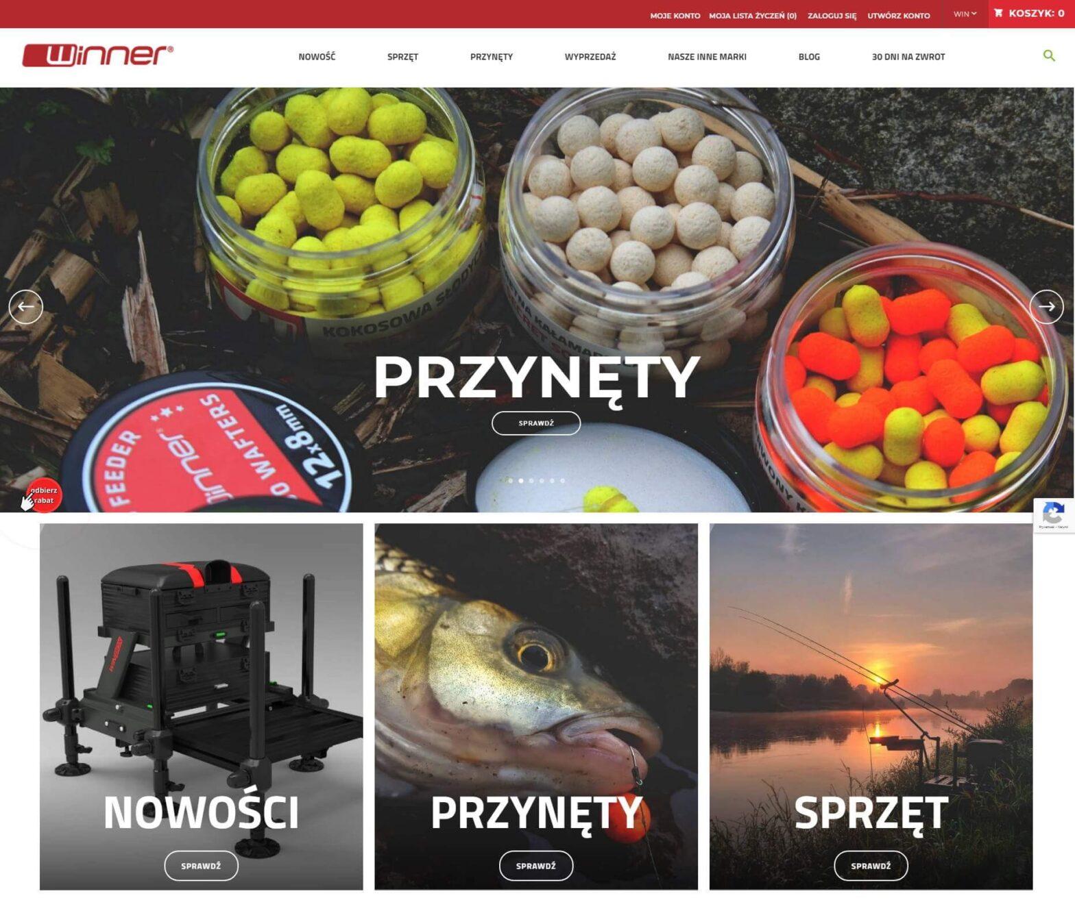 winnerfishing.com - Sklep z artykułami wędkarskimi
