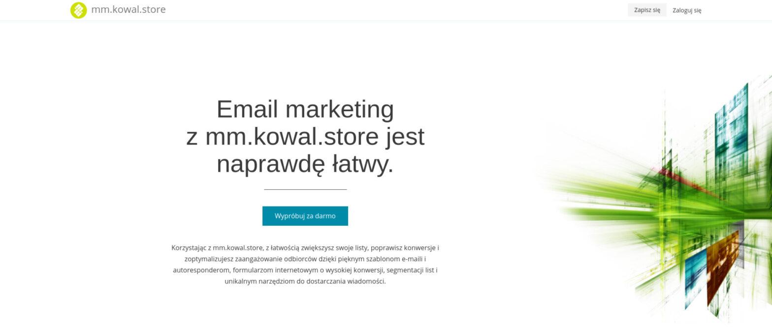Email marketing z mm.kowal.store jest naprawdę łatwy.